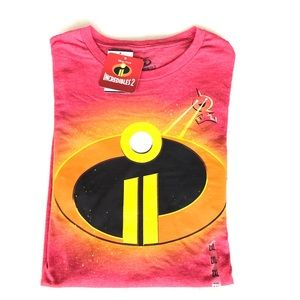 Disney incredibles brand new T-shirt  2XL